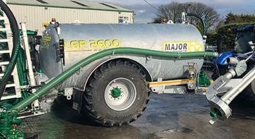 Major Contractor LGP Slurry Tanker 2600G (MA2600LGP)