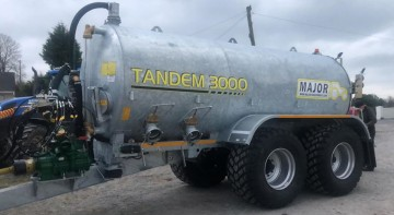 Major Tandem Axle Slurry Tanker 3000G (MA3000TDM)