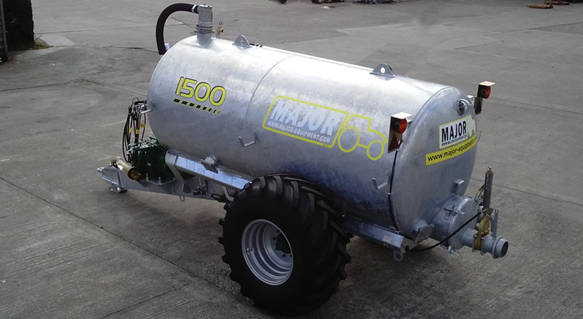 Major Agri Slurry Tanker 1500G (MA1500AG)