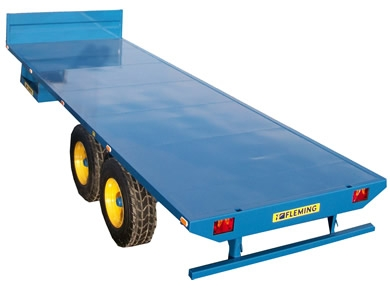 Fleming Agri 25ft TRF25 Flatbed Trailer