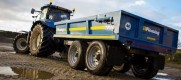 Fleming Agri 10 Tonne TR10HD Dump Trailer
