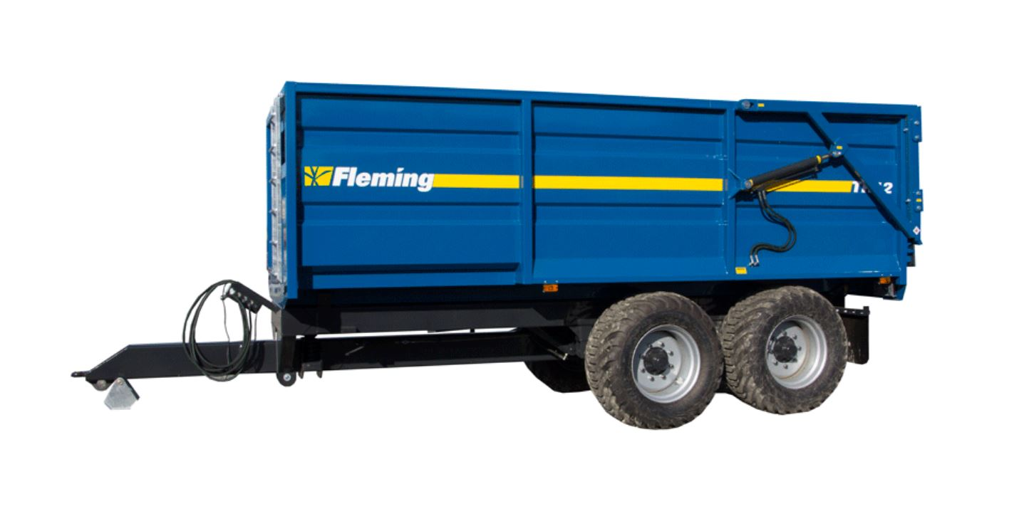 Fleming Agri 12 Tonne TR12  Monocoque Tipping Trailer