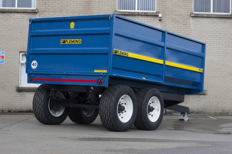 Fleming Agri 10 Tonne TR10M Monocoque Tipping Trailer