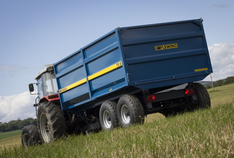 Fleming Agri 8 Tonne TR8M Monocoque Tipping Trailer
