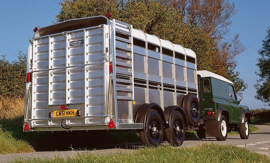 Ifor Williams TA510 12x6 H/R Livestock Trailer