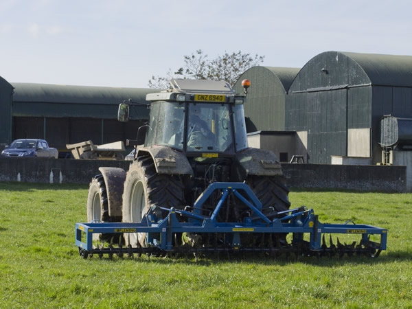 Fleming Agri 16ft Folding Aerator