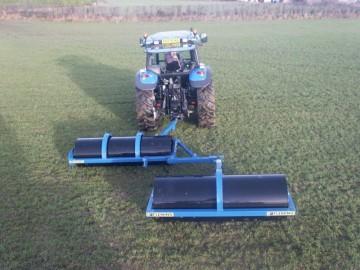 Fleming Agri 10ft Tandem Lead Land Roller