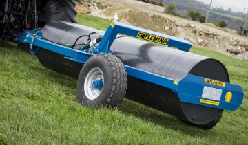 Fleming Agri 12ft End Tow Roller