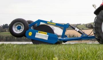 Fleming Agri 2.7m x 12mm Hydraulic Lifting Roller