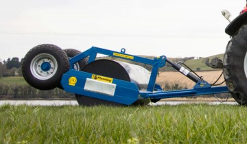 Fleming Agri 2.7m x 16mm Hydraulic Lifting Roller