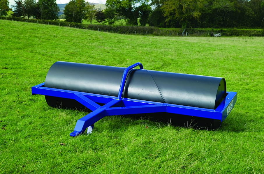 "Walter Watson 10ft x 30"" x 12.5mm Water Ballast Land Roller"