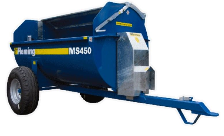 Fleming Agri MS 450 Muck Spreader