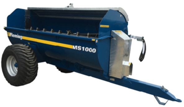 Fleming Agri MS 1000 Muck Spreader