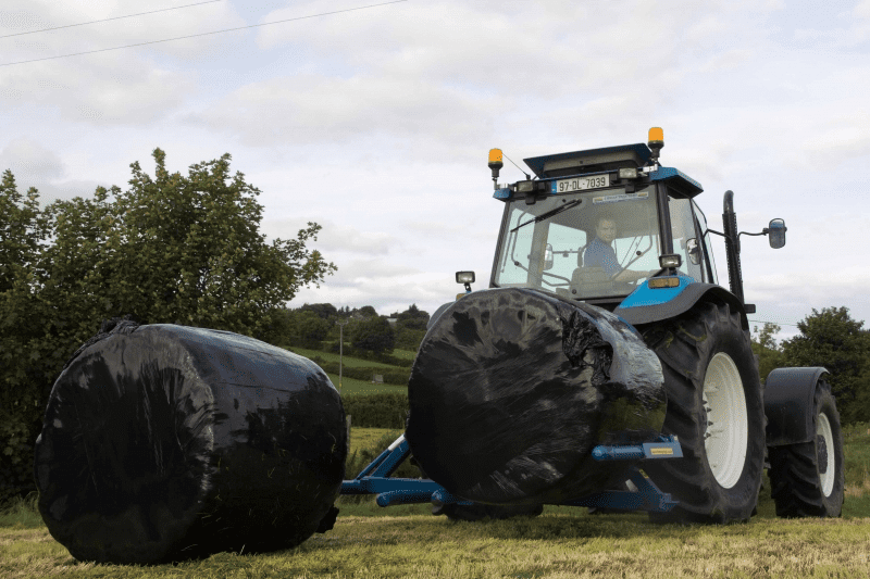 Fleming Agri Hydraulic Double Bale Transporter