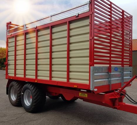 Johnston Bros 12T Silage Trailer
