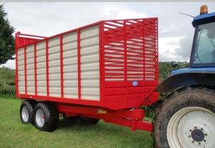 Johnston Bros 10T Silage Trailer