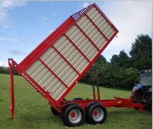 Johnston Bros 6T Silage Trailer