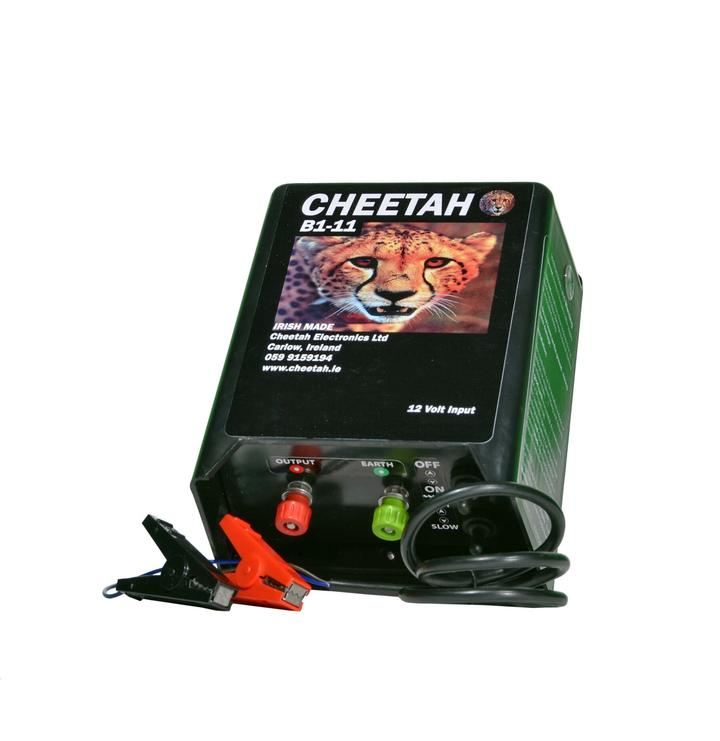 Cheetah B1-11 battery fence energiser 40 acres