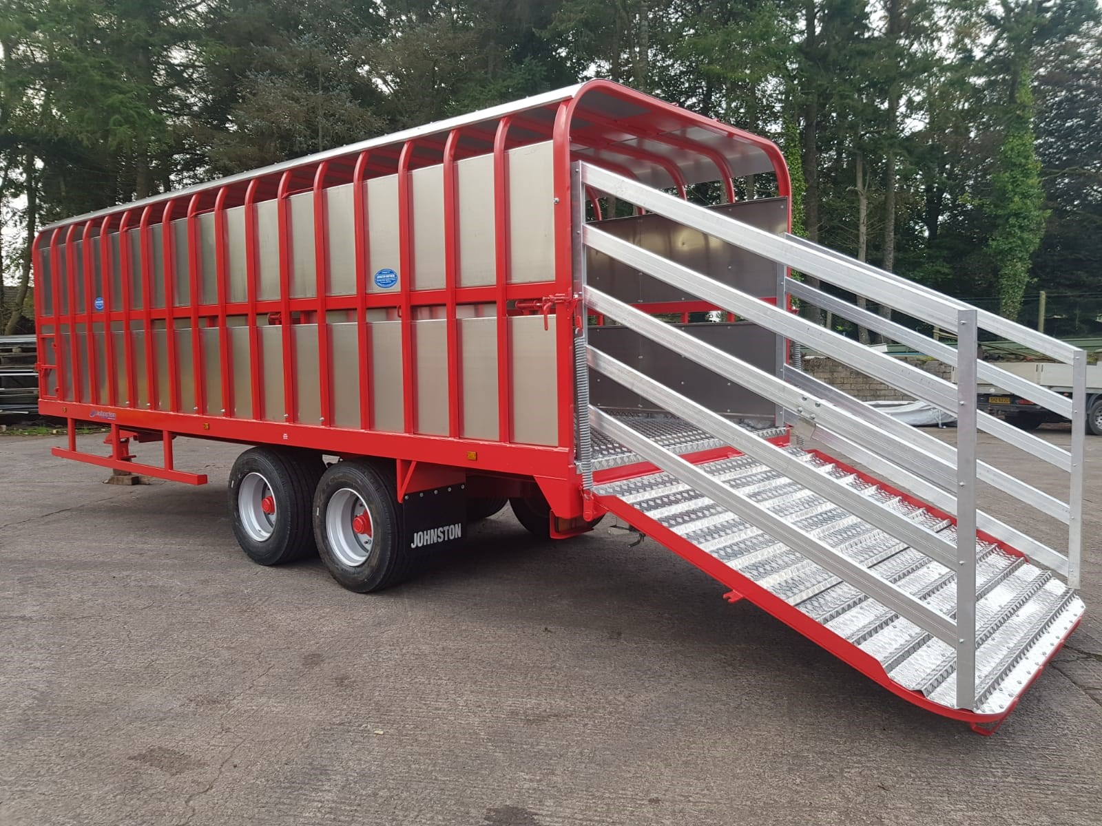 Johnston Bros 28ft Cattle Trailer