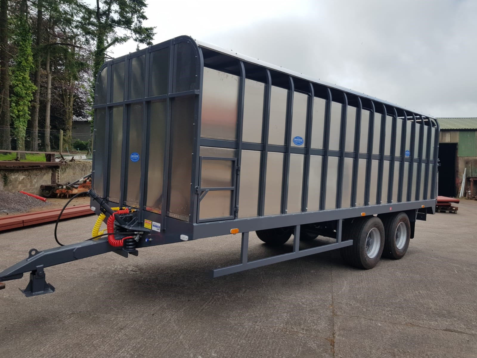 Johnston Bros 22ft Cattle Trailer