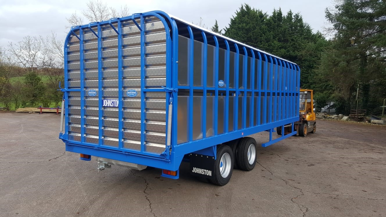Johnston Bros 20ft Cattle Trailer