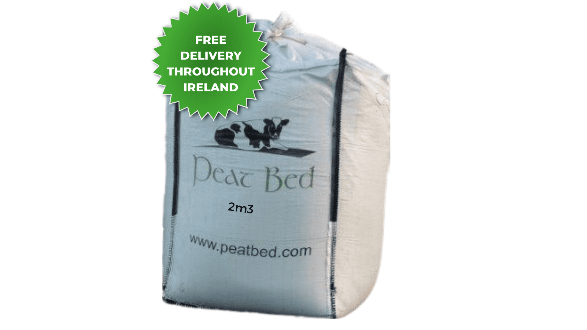 Peat Bed Poultry Bed 2m3 Bag- FREE DELIVERY