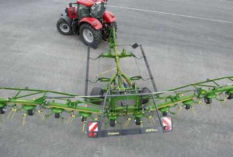 KRONE KWT 1600 Trailed Rotary Tedder