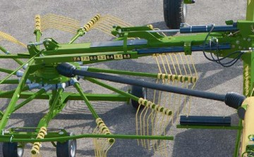 KRONE Swadro TC930 Twin Rotor Centre Delivery Rake