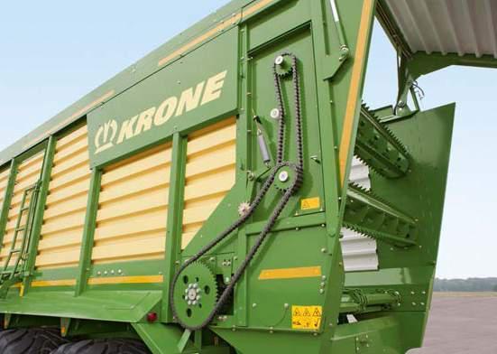 KRONE TX 460 D Forage Wagon