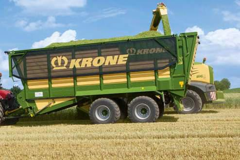 KRONE TX 560 Forage Wagon