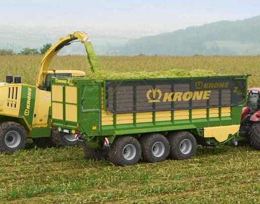 KRONE ZX 430 GL Forage Wagon