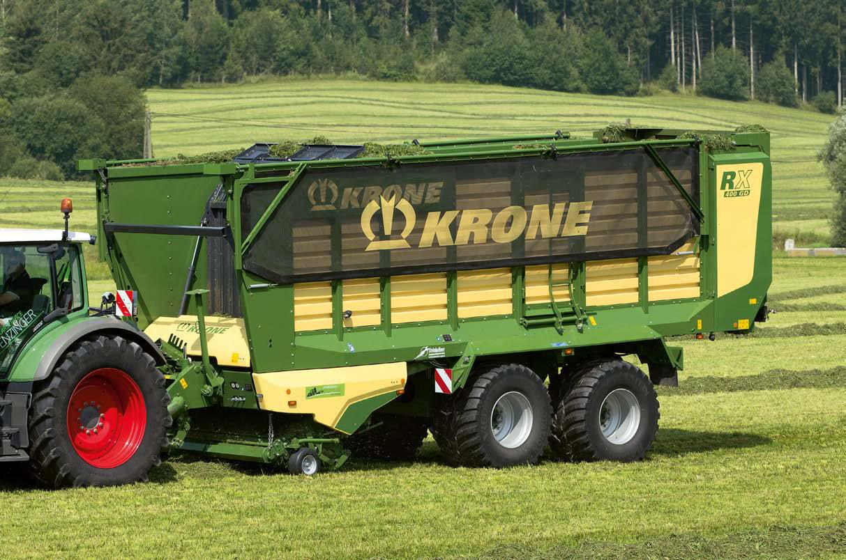 KRONE RX 400 GD Forage Wagon
