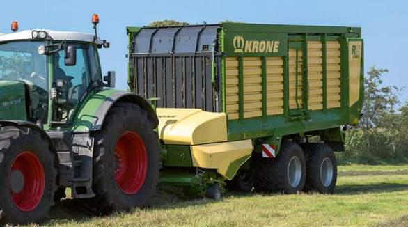 KRONE RX 360 GD Forage Wagon