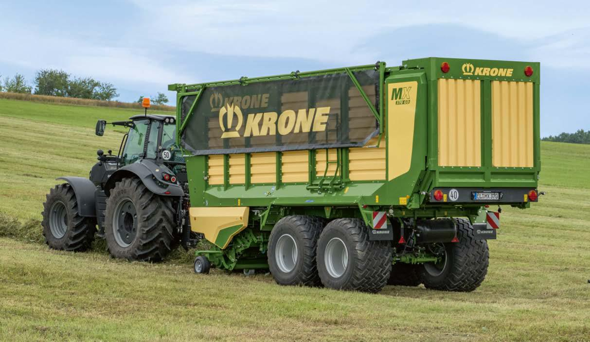 KRONE MX 370 GL Forage Wagon
