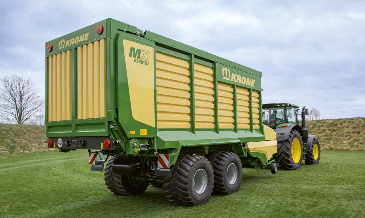 KRONE MX 330 GD Forage Wagon
