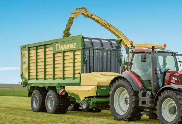 KRONE MX 330 GL Forage Wagon