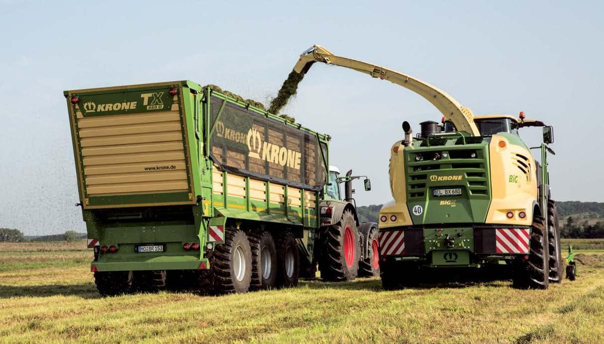 KRONE Big X 1180 Forage Harvester