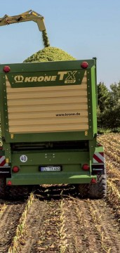 KRONE Big X 880 Forage Harvester