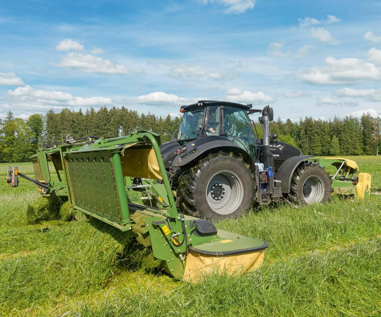 KRONE EasyCut B 870 CV Combination Mower