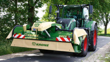 KRONE EasyCut F 320 CV Front Mower with Conditioner