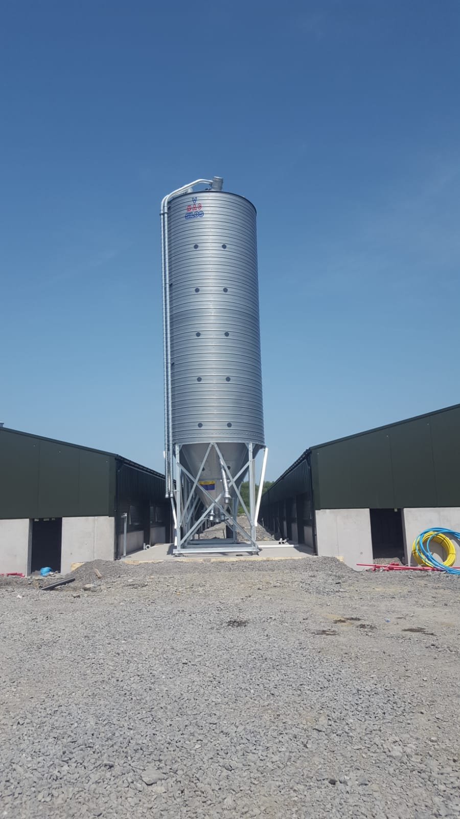 V-MAC 6 Tonne Single Legged Silo