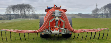 Slurryquip 7.8m Chassis Mounted Dribble Bar