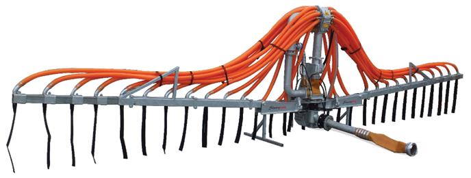 Slurryquip 9.6m Umbilical Dribble Bar