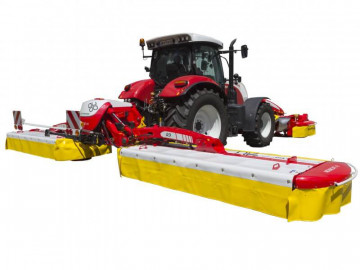 PÖTTINGER NOVACAT A10 RCB COLLECTOR Mower Combinations with Centre Pivot Suspension