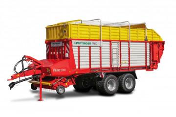 PÖTTINGER FARO 5010 D Rotary Loader Wagon