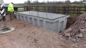 Carlow Concrete Tanks 2,500 Gallon (11.36m³) Slatted Round Tank