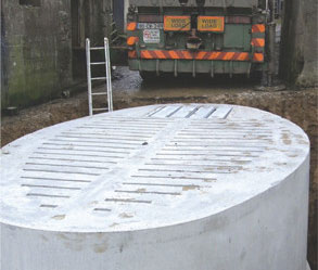 Carlow Concrete Tanks 2,500 Gallon (11.36m³) Slatted Round Tank