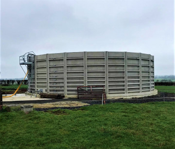 Macrete 21 Panel T6 / 5m High Acontank