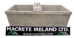 Macrete 15G Single Water Trough