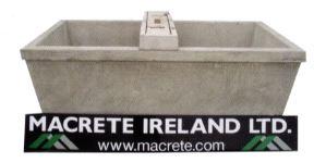 Macrete 75G Double Water Trough